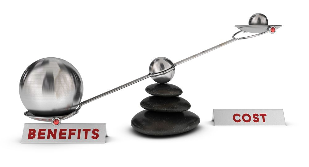 Balance in benefits and costs